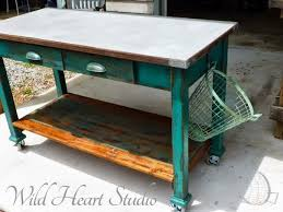Kitchen Island On Casters Best 25 Industrial Kitchen Island Ideas On Pinterest Industrial