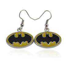 batman earrings fashion jewelry accessories batman earrings charm