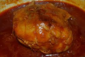cuisine roti de porc en cocotte rôti de porc au caramel simple et rapide à faire aux portes du paradis