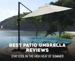 Best Patio Umbrella For Shade A Guide To The Best Patio Umbrella Outdoormancave