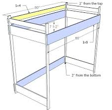 Bunk Bed Side Rails Bunk Bed Side Rails Ranch Oak Bunk Beds Or Can Be Used As