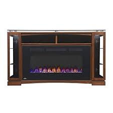 Electric Fireplace Entertainment Center Amazon Com Napoleon The Shelton 60 In Electric Fireplace