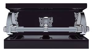 black caskets covington caskets