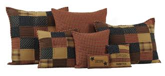 patriotic patch bedding quilt by vhc brands
