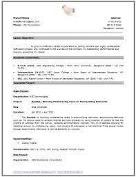 Resume Template For Teenager Download My First Resume Haadyaooverbayresort Com