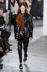 the coolest look for fall winter 2017 leather total look the