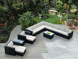 Amazon Com Patio Furniture by Amazoncom Ohana 14 On Amazing Outdoor Patio Furniture Sectional