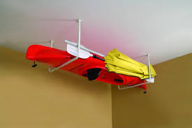 ceiling hangers for kayaks hanger inspirations decoration