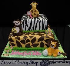 jungle theme baby shower cake baby shower cakes bushwick fondant baby shower cakes