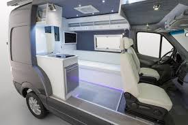 Camper Van Interior Lights Mercedes Serves Up Van Campers In Three Flavors