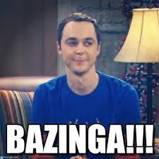 Sheldon Meme - bazinga sheldon bazinga meme on memegen