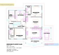 kerala house plans 1300 square foot single floor home shape