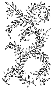 design embroidery leaves and berries embroidery design old design shop blog