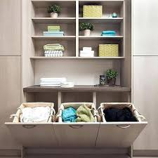 Laundry Room Cart - storage rolling cart laundry room with melamine cabinets pillow
