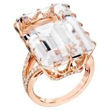 Ivanka Trump Wedding Ring by Ivanka Trump Rock Crystal Quartz Diamond Pave Gold Ring At 1stdibs