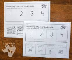thanksgiving cooking a turkey sequencing sets for