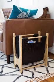 fabriquer son porte velo comment fabriquer un porte magazines en bois et en cuir bricobistro