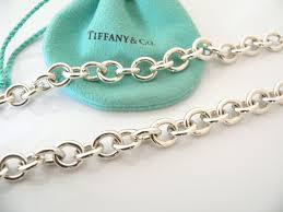 tiffany silver chains necklace images Tiffany co return to tiffany silver heart toggle charm pendant JPG