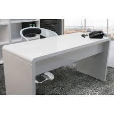 White High Gloss Office Desk Furniture Lumofdwh Lumiere High Gloss Office Desk White 1 Jpg T