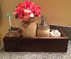 Mason Jar Bathroom Decor Mason Jar Planter Rustic Bathroom Decor Mason Jar Bathroom Decor