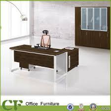 Office Executive Desk China Powder Coating Leg Italian Design Melamine Office Executive