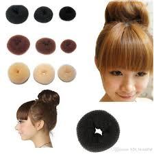 cool hair donut hair donut black nylon sponge taenia headbands hair donut hairdisk