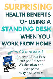 Stand Up At Desk by The Surprising Health Benefits Of Using A Standing Desk When You