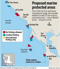 california map half moon bay new network of no fishing zones proposed from half moon bay to