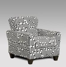 Black And White Accent Chair Affordable Furniture Maze Black White Accent Chair 9001 Savvy