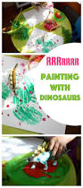 painting with dinosaurs a fantastic little kids craft that is