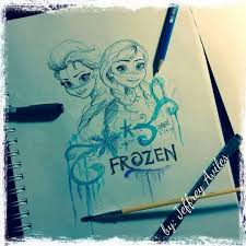 84 frozen draw images disney cruise plan
