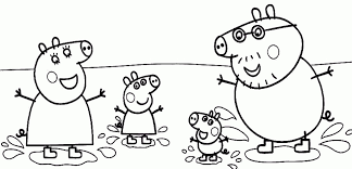 free peppa pig coloring pages print 94074