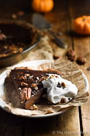 chocolate vegan pumpkin pie the endless meal