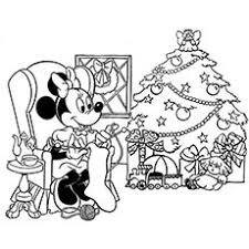 free disney christmas coloring pages coloring