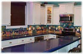 kitchen backsplash ceramic tile decorative ceramic tile custom made tropical fish tile