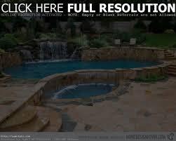 comfortable small backyard swimming pool in rectangular design