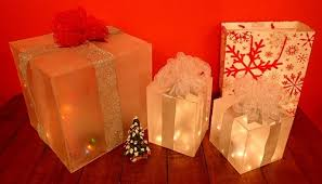 how to build themed lighted gift boxes the home depot