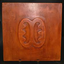 african adinkra symbol of peace u0026 friendship carved wood wall