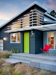 midcentury exterior house wall paint color combinations home