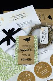 personalized seed packets diy memorial bird seed packet package with green foliage