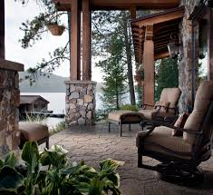 Rustic Patio Designs by Exterior Design Interesting Patio Design With Outdoor Furniture