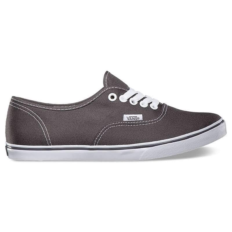 Vans Authentic Lo Pro Pewter True White Skateboarding Shoes