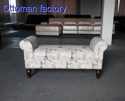 sofa chair for bedroom bedroom sofa chair hot print fabric bed end stool