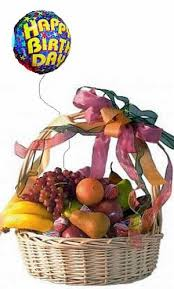 fresh fruit basket delivery birthday fruit basket balloon same day gift basket delivery