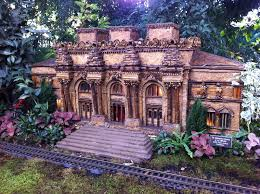 Botanic Garden Bronx by Go Christmas In Nyc Holiday Train Show At The New York
