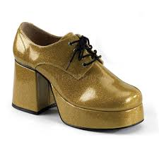 halloween sneakers jazz02g gld men u0027s disco pimp daddy gold glitter platform halloween