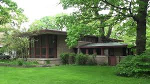 frank lloyd wright river forest isabel roberts house youtube