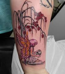 Fairy And Flower Tattoo Designs 75 Charming Fairy Tattoos Designs A Timeless And Classic Choice