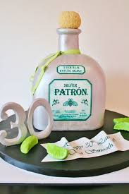 custom cakes 3d 30th birthday cakes nj patron bottle custom cakes sweet