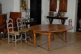 Louis Philippe Dining Room Period Louis Philippe Walnut Drop Leaf Dining Table With